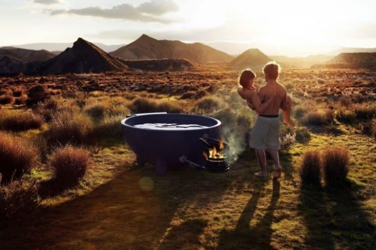 Portable Outdoor Bathtub