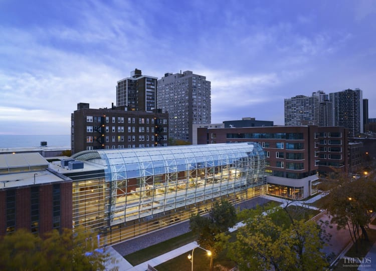 Greenhouse to foster eco-friendly farming at the Institute of Environmental Sustainability, Loyola University Chicago