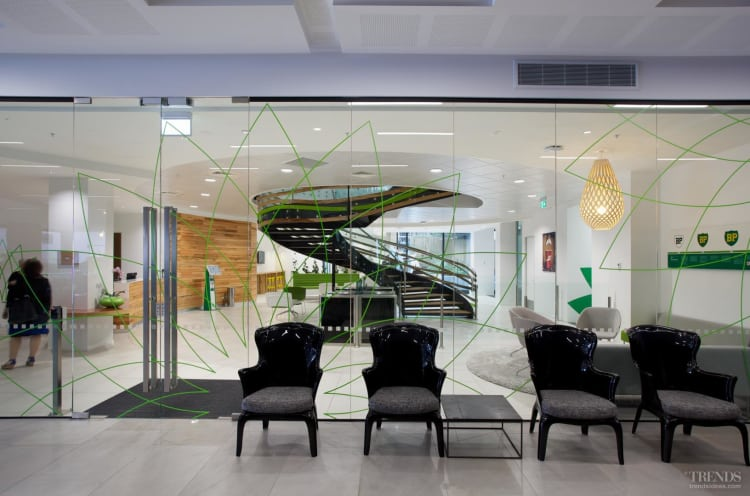 BP New Zealand head office by Unispan