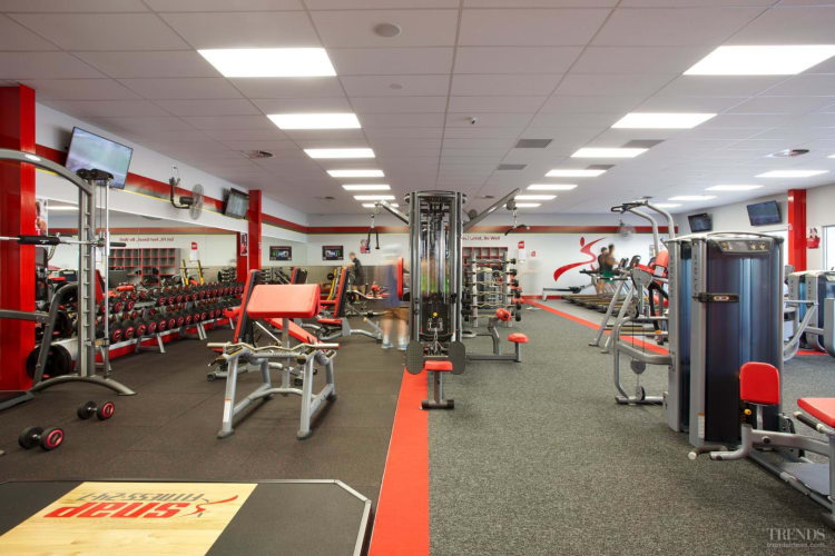 Daily gymnasium cleaning by specialist commercial cleaner Cleancorp