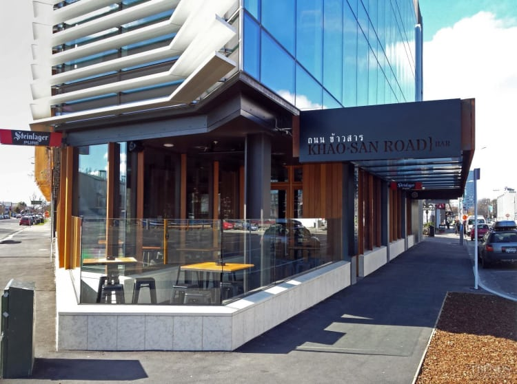New commercial building in Christchurch has local stone facades from Stoneface