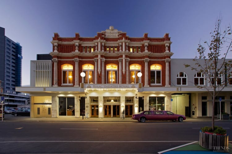 Restoration of historic Isaac Theatre Royal in Christchurch to full Edwardian splendour