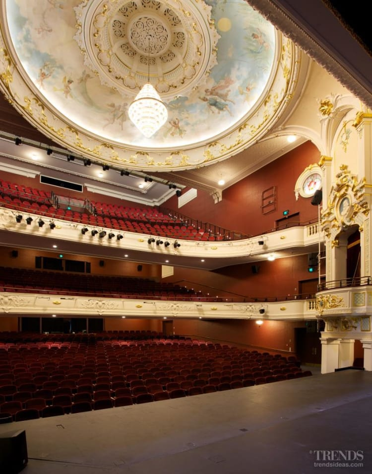 Lighting fixtures in the Isaac Theatre Royal were supplied by Lighthouse Lighting in Christchurch