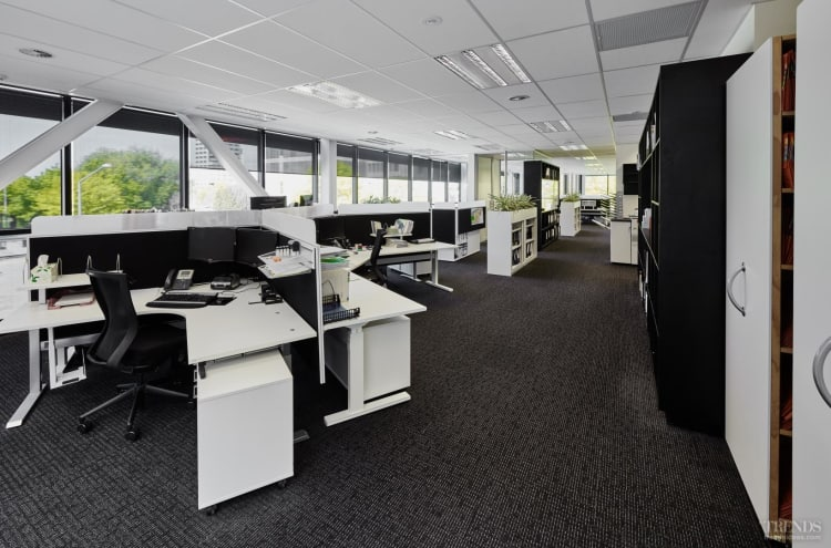 Contemporary office fit out for legal firm by gaze commercial for Office design trends articles