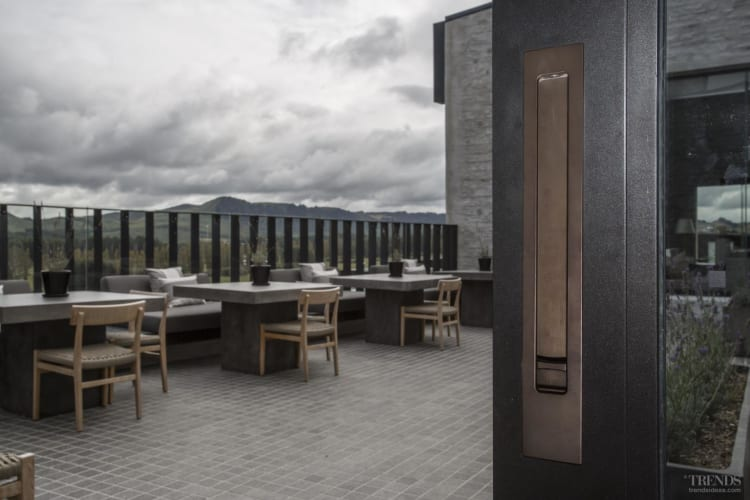 Luxury Kinloch Lodge features door and window hardware by Chant