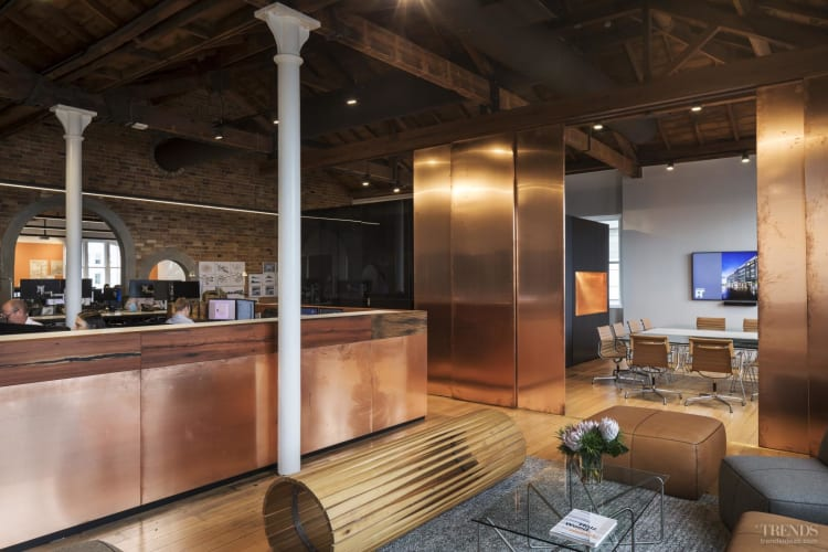 Fit-out of architect Peddle Thorp's offices emphasises the building's historic origins