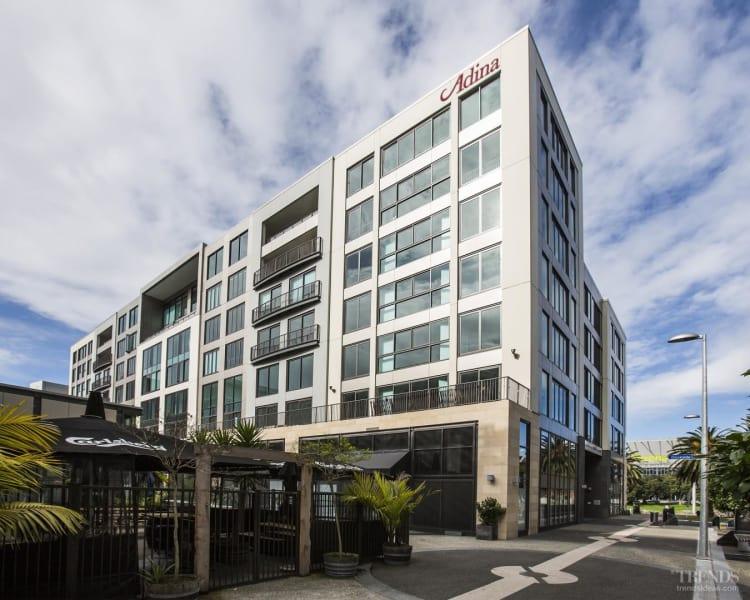 Adaptive reuse project transforms an apartment complex into a 4.5 star hotel