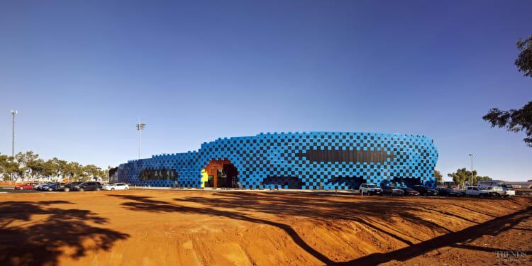 Desert storm – Wanangkura Stadium by ARM Architecture