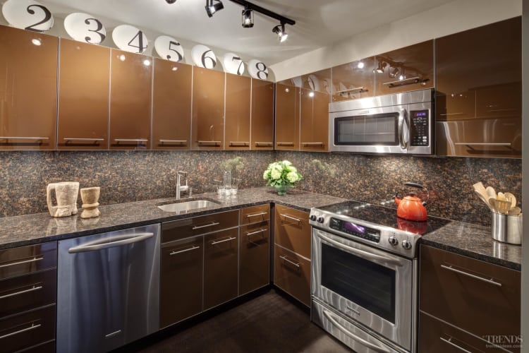With a little pizzazz – kitchen by Brian Snow