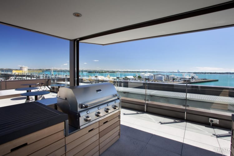 Alfresco catering at ASB North Wharf