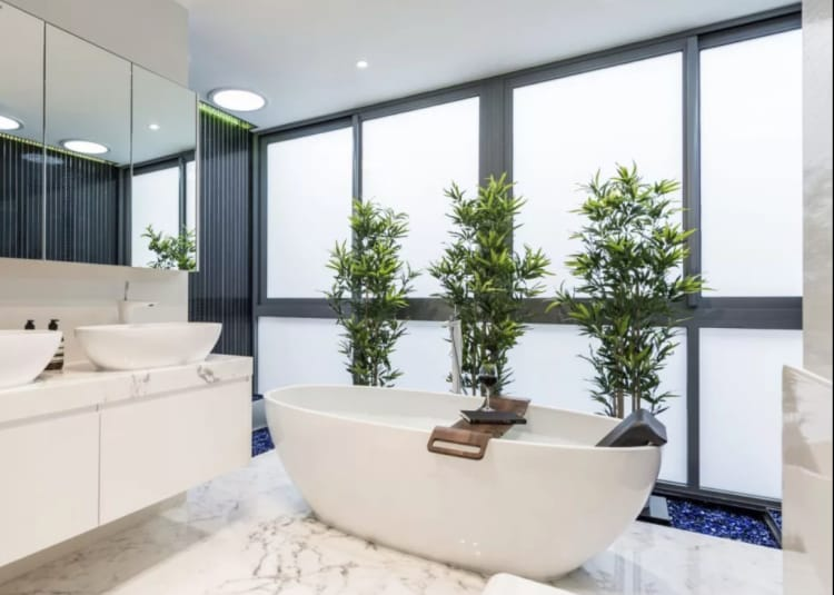 Make your bathroom a relaxation zone