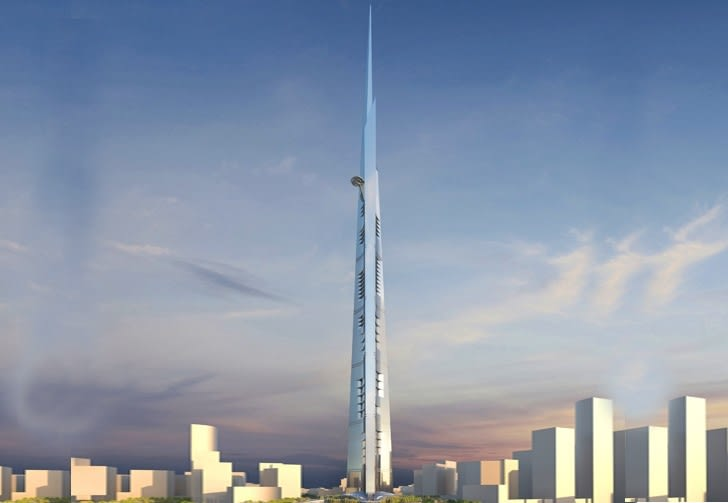 The Jeddah Tower will feature the world's highest observation platform
