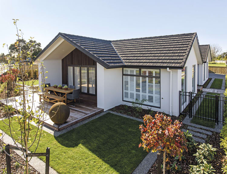 Taranaki family showhome offers the best of traditional design plus the best of brand new