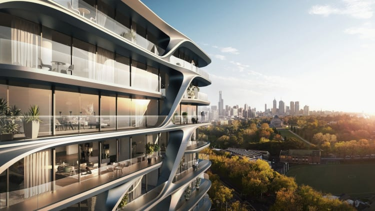 Mayfair Residential Tower – Zaha Hadid Architects