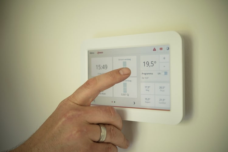 Keep your heaters on low to save energy