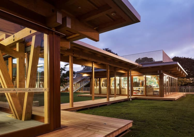 Supreme winner of the 2017 NZ Wood-Resene Timber Design Awards
