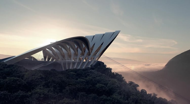A ZHA cable car project