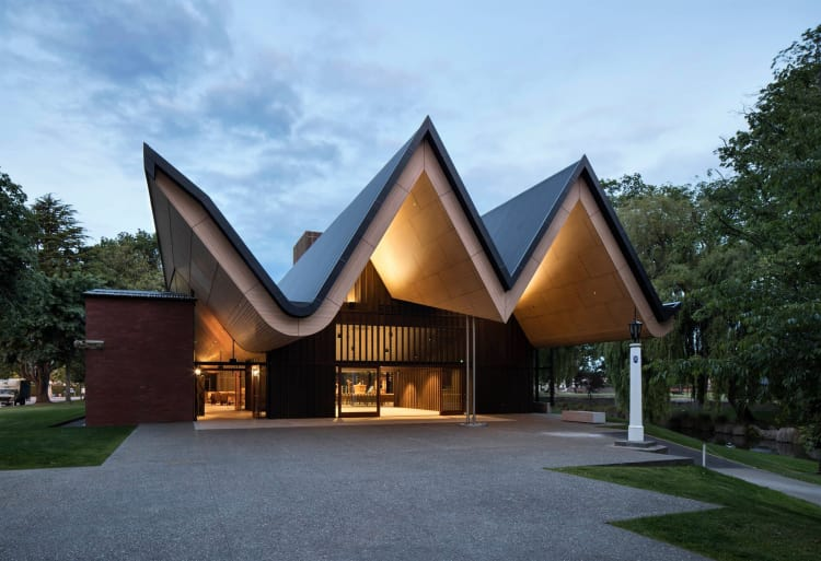Finalist in Commercial Architectural Excellence (Category 2) – St Andrews College Centennial Chapel, Christchurch:  Architectus – photography by Simon Devitt