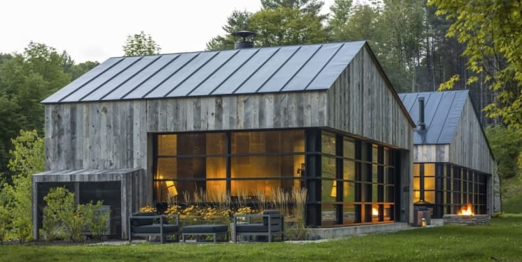 A forested home by Birdseye VT