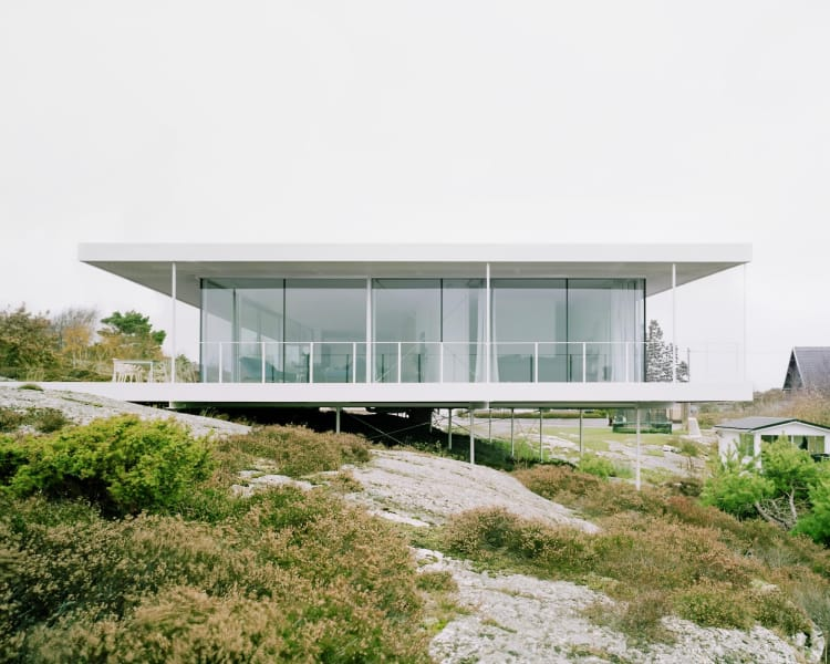 The home exemplifies the best of Swedish design. It's considered, clean and contemporary