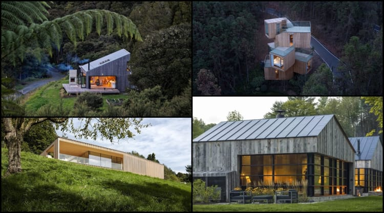 Our very best forest homes.