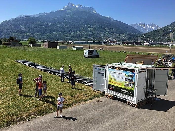 Transportable Solar Microgrid