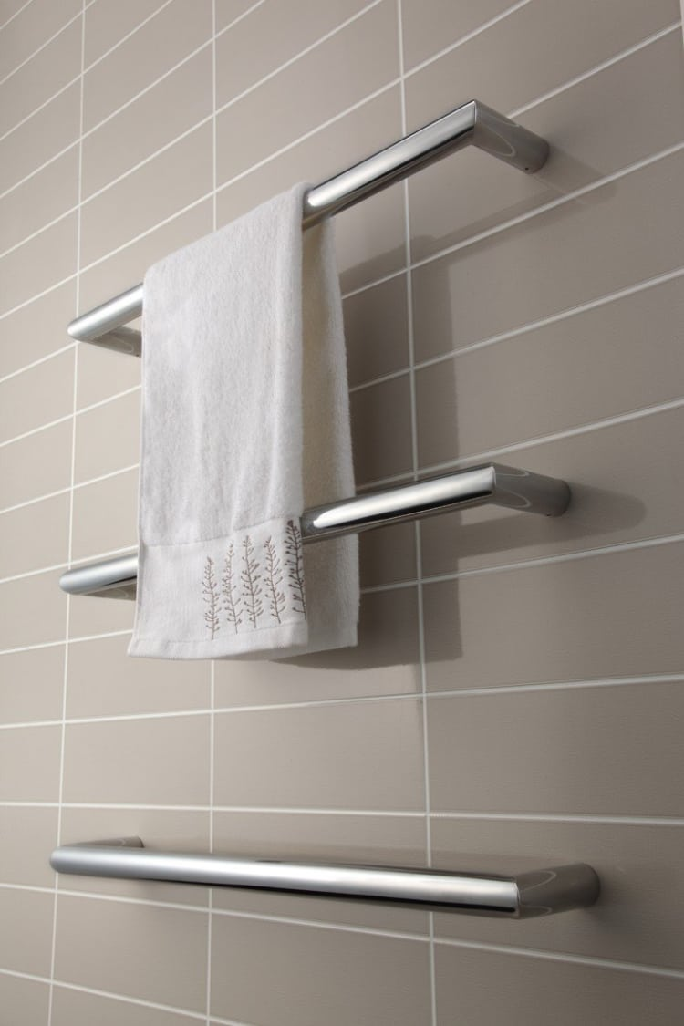 Strata Single Bar Towel Warmers