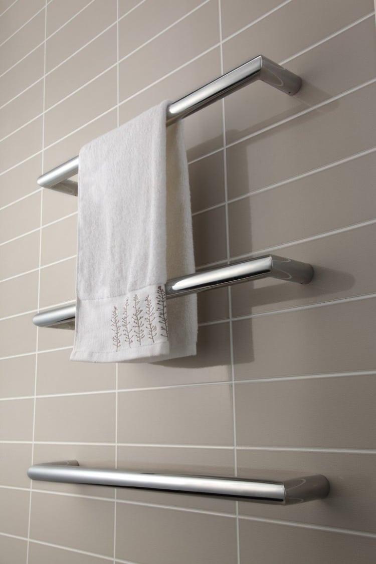 Strata Single Bar Towel Warmers