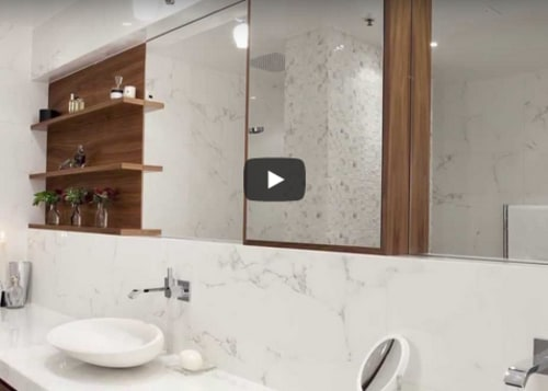 Remodelling a bathroom with lack of natural light