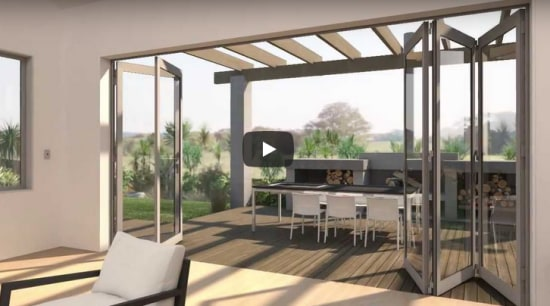 Bifold doors continue to increase in popularity thanks to their ease of use