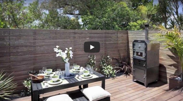 Hardwood deck provides outdoor entertaining area & sandpit for the kids
