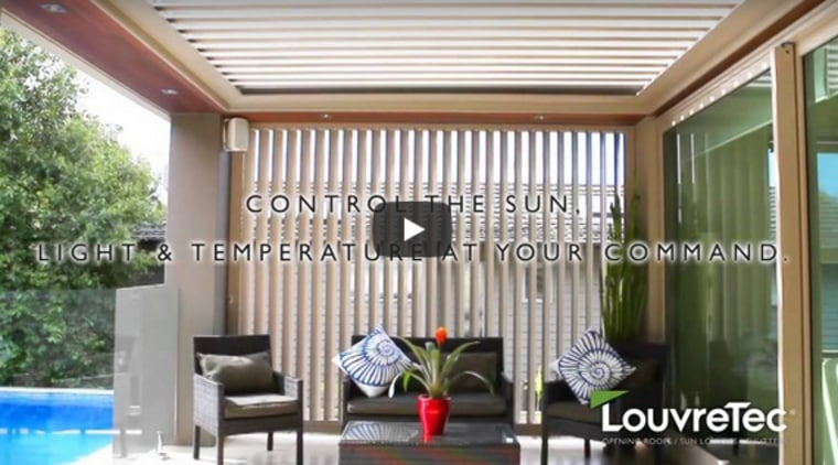Louvretec Opening Roofs and Sun Louvres