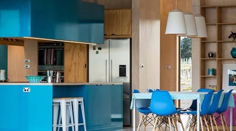 Be bold with kitchen colours