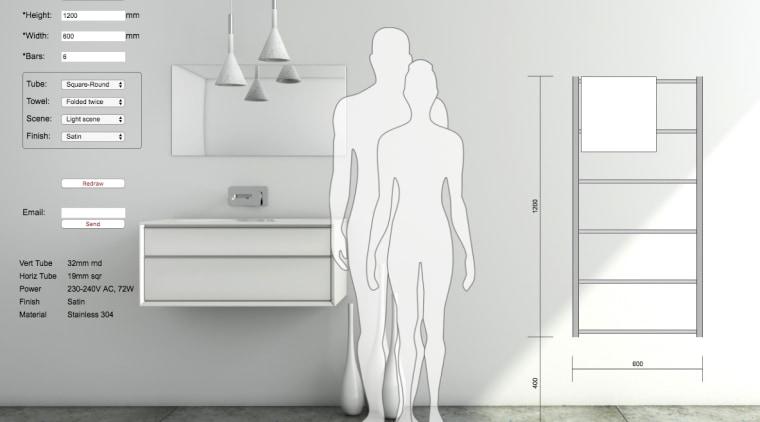 Design your own towel rail