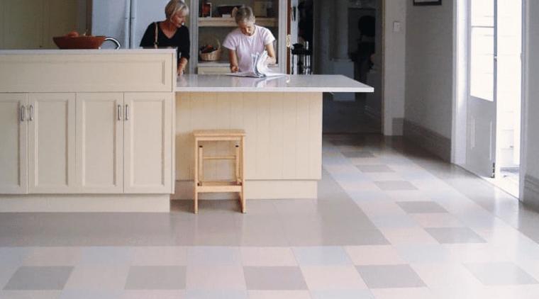 This upmarket St Marys Bay home in Auckland floor, flooring, furniture, hardwood, laminate flooring, tile, wood, wood flooring, gray