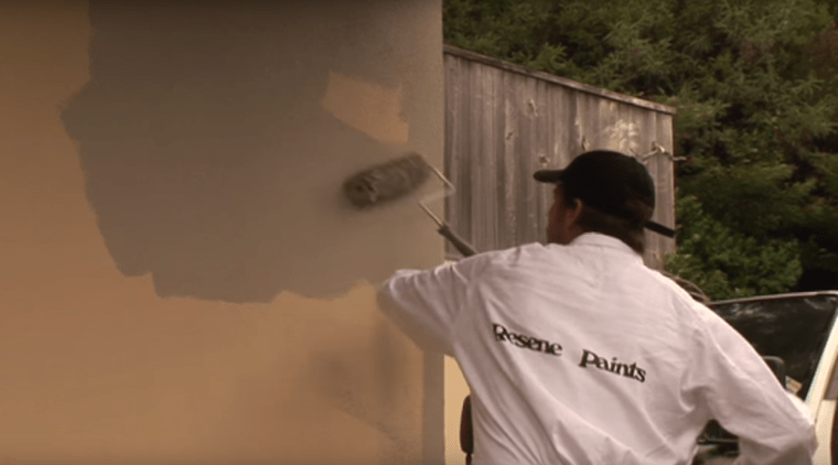 Waterproofing plaster with Resene X200