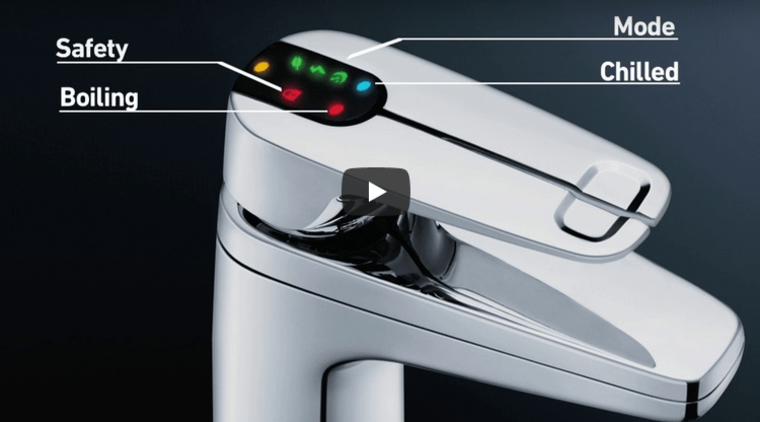 New tap offers instant boiling or chilled water