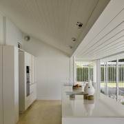 The key public rooms of kitchen and dining