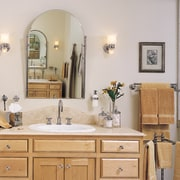 The cabinetry of this bathroom - The cabinetry bathroom, bathroom accessory, bathroom cabinet, home, interior design, room, sink, gray