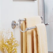 Close-up view of the towel rail - Close-up interior design, linens, material, product design, textile, white