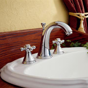View of the hand basin - View of ceramic, plumbing fixture, sink, tap, red
