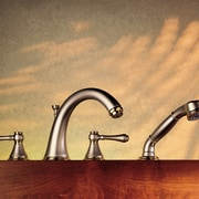 Stylish Faucet - Stylish Faucet - product design product design, still life photography, tap, orange, brown