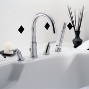 Interesting desing in this faucet set - Interesting bathroom, plumbing fixture, product, product design, sink, tap, white