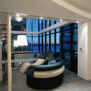 View of the seating area outside the master furniture, interior design, gray, black