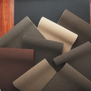 View of the range of carpet - View flooring, material, textile, black
