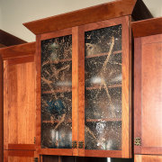 View of the cabinetry - View of the cabinetry, furniture, wood, wood stain, orange, red