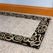 The Venus Border rug from Advance Flooring is flooring, mat, white
