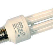 View of the 14W Osram Dulux Star lamp white