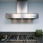 The Miele DA259-2U canopy hood - The Miele kitchen appliance, product, product design, gray, black