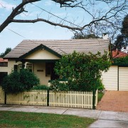 view of exterior cladding of house - view cottage, estate, facade, home, house, neighbourhood, property, real estate, residential area, roof, tree, yard
